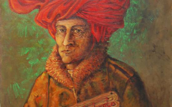 Uomo con turbante